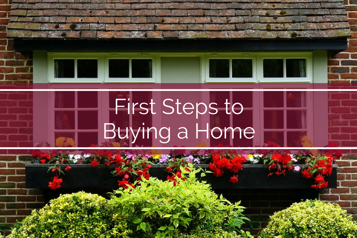 24 Oct The First Steps To Buying A Home