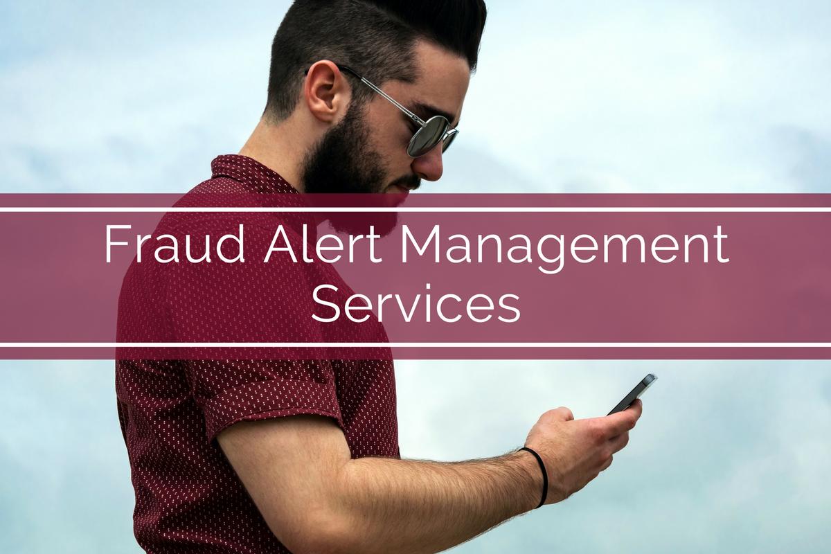 Fraud Alert Management Services